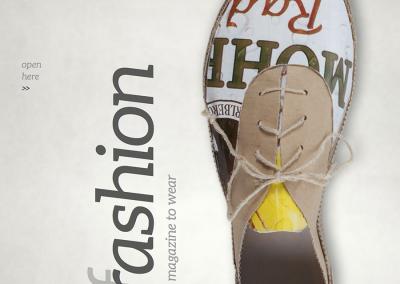 Magazine Trashion Cover