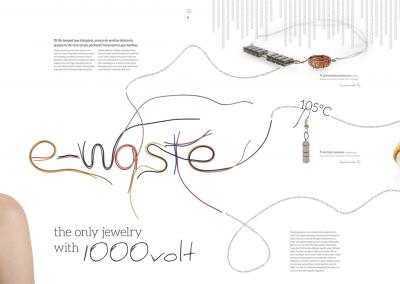 Magazine trashion e-waste